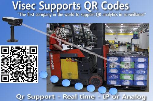 Visec Reads QR Codes